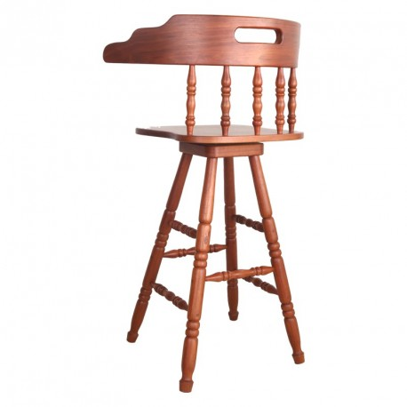 Bar Stool With Spindle