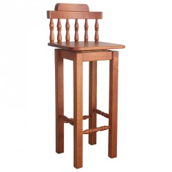 Bar Stool with Square Leg