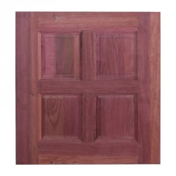 Kitchen Door 1 pc Purple Heart 4 Panel