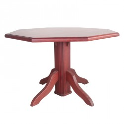 Octagon Table Purple Heart