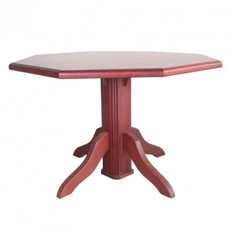 Octagon Table Purple Heart