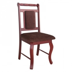 Spindle Back Purple Heart Chair